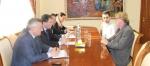 Խորհրդակցություն «Հայջրմուղկոյուղի» ընկերության գլխավոր տնօրեն Պատրիկ Լորենի հետ