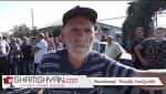 В Араратской области жители деревни вновь перекрыли дорогу