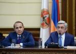Սերժ Սարգսյանը հրատապ հանդիպում է անցկացրել ՀՀԿ խմբակցության անդամների հետ