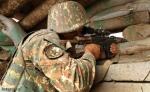 Ադրբեջանական կողմը շարունակել է կրակել տարբեր տրամաչափի հրաձգային և դիպուկահար զինատեսակներից
