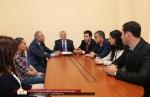 ԼՂՀ ԱԺ նախագահը Ռուբեն Մելիքյանին ներկայացրել  է ՄԻՊ գրասենյակի աշխատակազմին