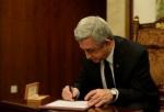 Սերժ Սարգսյանը ստորագրել է ԱԺ ընդունած օրենքը