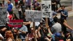 Կալիֆոռնիայում Թրամփի կողմնակիցների և ընդդիմախոսների միջև բախում է տեղի ունեցել (տեսանյութ)