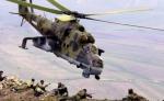 Ռուսական ավիաբազայի ուղղաթիռների անձնակազմերը Հայաստանի լեռներում կատարելագործում են վայրէջքներն ու վերթիռները