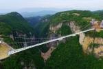 Չինաստանում աշխարհի ամենաերկար ապակյա կամուրջն են կառուցել (տեսանյութ)