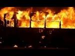 «Սասնա ծռերը» «Շեվրոլե» ավտոբուս են այրել