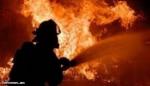 Ոստան գյուղում հրդեհ է բռնկվել անասնագոմի տանիքում