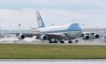 Օբամայի ինքնաթիռը հայտնվել է սաստիկ մրրկայնության գոտում