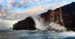 Հավայան կղզիներում ժայթքող հրաբխից լավան հասել է օվկիանոսին (տեսանյութ)