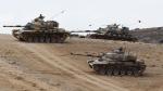 Թուրքական տանկերը ներխուժել են Սիրիայի տարածք