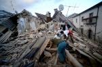 Իտալիայում երկրաշարժի հետևանքով զոհվածների թիվը հասել է 73-ի