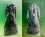 Նկարչուհին 2 ամիս շարունակ զգեստն իջեցրել է Մեռյալ ծովը (ֆոտոշարք)