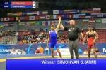 Հայ ըմբիշն աշխարհի առաջնությունում հաղթել է ադրբեջանցուն