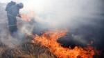 Հաղթանակ կամրջի տակ այրվել է 4000 քմ խոտածածկ տարածք