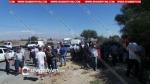 10-ից ավելի գյուղերի բնակիչներ փակել են Արմավիր-Սարդարապատ ճանապարհը