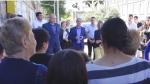 ՀԱՄԱԽՄԲՈՒՄ կուսակցության անդամների հանդիպումն ընտրողների հետ Գյումրիի թիվ 3 ավագ դպրոցի տարածքում (տեսանյութ)