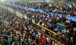 Հնդկաստանի և Բանգլադեշի գերբեռնված գնացքները