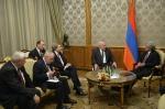 Սերժ Սարգսյանը հանդիպել է ԵԱՀԿ Մինսկի խմբի համանախագահների հետ