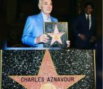 Շառլ Ազնավուրը Հոլիվուդում աժանացել է Պատվո աստղի (տեսանյութ)