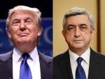 Սերժ Սարգսյանը շնորհավորել է Դոնալդ Թրամփին
