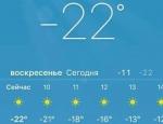 Ճիշտ են ցույց տալիս միայն Երևանի ջերմաստիճանը (լուսանկար)