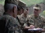 Сейран Оганян обратился к теме Карабахского конфликта