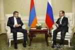 Դմիտրի Մեդվեդևի հրավերով Կարեն Կարապետյանը կայցելի Մոսկվա