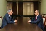 Այսօր տեղի է ունեցել Սեյրան Օհանյանի և Վարդան Օսկանյանի հանդիպումը