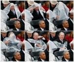 Բուշի «պայքարն» ընդդեմ անձրևանոցի հումորի առիթ է տվել