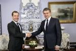 Մոսկվայում հանդիպել են Կարեն Կարապետյանն ու Դմիտրի Մեդվեդևը