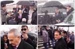 Օբաման, Քեմերոնը, թագուհին անձրևանոցը իրենք են պահում (ֆոտոշարք)