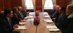 Էդվարդ Նալբանդյանը հանդիպել է ԵԱՀԿ Մինսկի խմբի համանախագահներին