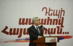 Սերժ Սարգսյանի նոր կարգախոսը