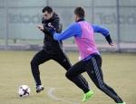 Мхитарян провел тренировку со сборной Армении
