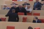 Վրաստանի խորհրդարանում իրար են ծեծել (տեսանյութ)