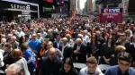 Ցույց Նյու Յորքում՝ նվիրված Հայոց ցեղասպանության զոհերի հիշատակին