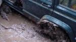 Ցեխակույտի մեջ և ցորենի արտում արգելափակվել են ավտոմեքենաներ