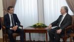 Պաշտոնական այցով Երևանում է Էստոնիայի ԱԳ նախարարը (տեսանյութ)