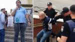 Саакашвили в Кривом Роге закидали яйцами и зеленкой (видео)