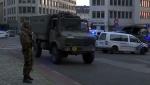 В Брюсселе застрелили мужчину, устроившего взрыв на вокзале (видео)