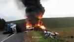 Բրազիլիայում սարսափելի վթարից 21 մարդ է զոհվել (տեսանյութ)