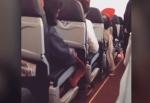 Ուղևորները սարսափել են ինքնաթիռի շարժիչի խափանումից հետո առաջացած թափահարումից (տեսանյութ)