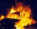 «Հայրենիք» առևտրի տան մոտ ավտոմեքենա է այրվել