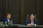 Կառավարության այսօրվա նիստը վարել է Սերժ Սարգսյանը (տեսանյութ)