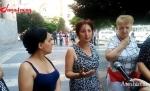 «Ֆիրդուսի» տոնավաճառի աշխատակիցները Կառավարության շենքի առջև ցույց են անցակցրել (տեսանյութ)