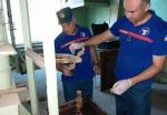 На заводе «Наирит» спасатели собрали около 3-х килограмм ртути
