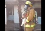 Կալիֆոռնիայի հրշեջներին հաջողվել է փրկել շան կյանքը