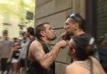 Իսպանիան ահաբեկչությունից հետո. փողոցում բախվել են նեոնացիստներն ու հակաֆաշիստները (տեսանյութ)