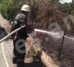Աբովյանի դպրոցի մոտ այրվել է 1000 քմ խոտածածկ տարածք