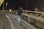 Մահացու քայլից մեկ վայրկյան առաջ. ինքնասպանության փորձ (տեսանյութ)